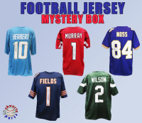 Schwartz Sports Football Jersey Signed Mystery Box - Series 36 - (Limited to 150) at PristineAuction.com