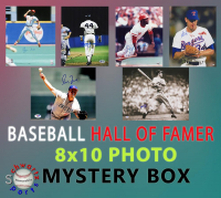 Schwartz Sports Baseball Hall of Famers Signed 8x10 Photo Mystery Box - Series 10 (Limited to 75) - ** Stan Musial, Ozzie Smith & Nolan Ryan 16x20 Photo Redemptions** at PristineAuction.com