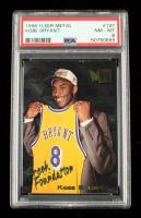 Kobe Bryant 1996-97 Metal #137 RC (PSA 8) at PristineAuction.com