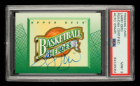 Larry Bird Signed 1992-93 Upper Deck Larry Bird Heroes #NNO (PSA Encapsulated) at PristineAuction.com