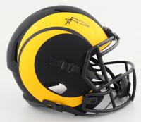 Aaron Donald Signed Rams Full-Size Eclipse Alternate Speed Helmet (JSA Hologram) (See Description) at PristineAuction.com