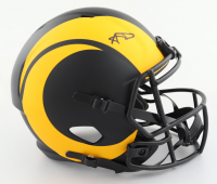 Aaron Donald Signed Rams Full-Size Eclipse Alternate Speed Helmet (JSA COA) (See Description) at PristineAuction.com