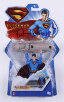 "Brandon Routh Signed ""Superman Returns"" Wall Busting Superman Action Figure (JSA COA) (See Description) at PristineAuction.com"