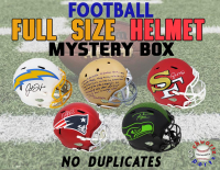Schwartz Sports NO DUPLICATES Full-Size Football Helmet Signed Mystery Box - Series 5 (Limited to 75) (75 DIFFERENT PLAYERS - NO DUPLICATES!!!) at PristineAuction.com