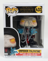 "Clive Revill Signed ""Star Wars"" Emperor Palpatine #433 Funko Pop Vinyl Figure (JSA COA) at PristineAuction.com"