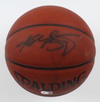 Kobe Bryant Signed NBA Basketball (Beckett LOA) (See Description) at PristineAuction.com