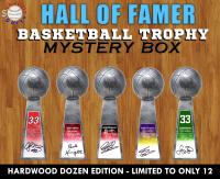 Schwartz Sports - Basketball Hall of Famer Signed Trophy Mystery Box – (Hardwood Dozen Edition - Series 1) – (Limited to ONLY 12) at PristineAuction.com
