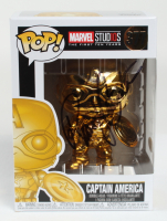 "Randy Couture Signed ""Marvel Studios"" Captain America #377 Funko Pop Vinyl Figure (JSA COA & PSA COA) (See Description) at PristineAuction.com"