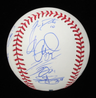 2020 Phillies OML Baseball Team-Signed by (12) with Didi Gregorius, Zack Wheeler, J.T. Realmuto, Andrew McCutchen (Beckett LOA) at PristineAuction.com