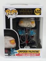 "Clive Revill Signed ""Star Wars"" Emperor Palpatine #433 Funko Pop Vinyl Figure (JSA COA) (See Description) at PristineAuction.com"