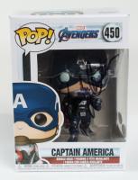 "Randy Couture Signed ""Marvel Avengers"" Captain America #450 Funko Pop Vinyl Figure (JSA COA & PSA COA) (See Description) at PristineAuction.com"