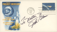John Glenn Signed Signed Project Mercury First Day Cover Envelope (Beckett LOA) at PristineAuction.com
