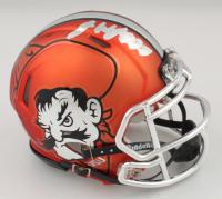 James Washington Signed Oklahoma State Cowboys Speed Mini Helmet (Washington Hologram) (See Description) at PristineAuction.com