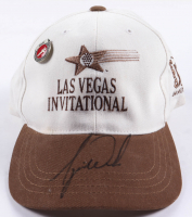 Tiger Woods Signed Las Vegas Invitational Adjustable Hat & Pin with High Quality Display Case (Beckett LOA) at PristineAuction.com