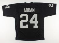 Johnathan Abram Signed Jersey (JSA COA) at PristineAuction.com