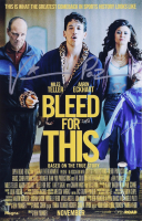 """Vinny """"Paz"""" Pazienza Signed """"Bleed For This"""" 11x17 Photo Inscribed """"5x"""" (Schwartz COA) at PristineAuction.com"""