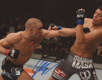 Georges St-Pierre Signed UFC 8x10 Photo (Steiner COA) at PristineAuction.com