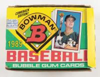 1989 Bowman Baseball Wax Box of (36) Packs at PristineAuction.com