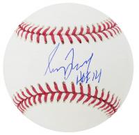 "Greg Maddux Signed OML Baseball Inscribed ""HOF 14"" (Beckett COA) at PristineAuction.com"