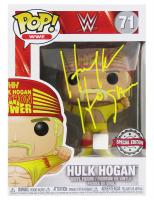 "Hulk Hogan Signed ""WWE"" Hulk Hogan #71 Funko Pop! Vinyl Figure  (Schwartz COA) at PristineAuction.com"