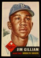 Jim Gilliam 1953 Topps #258 RC at PristineAuction.com
