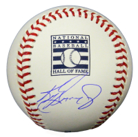 Ken Griffey Jr. Signed Hall Of Fame Logo Baseball (Beckett COA) at PristineAuction.com