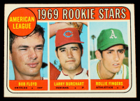 Bob Floyd RC / Larry Burchart RC / Rollie Fingers 1969 Topps #597 Rookie Stars RC at PristineAuction.com