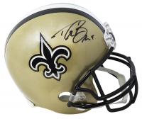 Drew Brees Signed Saints Full-Size Helmet (Beckett COA) at PristineAuction.com
