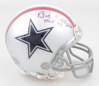 "Bob Lilly Signed Cowboys Mini Helmet Inscribed ""HOF '80"" (JSA COA) at PristineAuction.com"