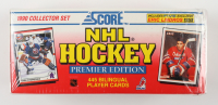 1990-91 Score Canadian Hockey Complete Set of (445) Bilingual Cards with Martin Brodeur #439 RC, Eric Lindros #440 RC, Jaromir Jagr #428 RC, Eric Lindros #5B at PristineAuction.com
