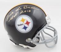 "Dick LeBeau Signed Steelers Mini Helmet Inscribed ""HOF 2010"" (JSA COA) at PristineAuction.com"