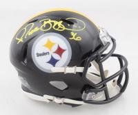 Jerome Bettis Signed Steelers Speed Mini Helmet (Beckett COA) (See Description) at PristineAuction.com