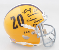Billy Cannon Signed LSU Tigers Mini Helmet with Multiple Inscriptions (JSA COA) at PristineAuction.com