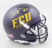 Chris Johnson Signed East Carolina Pirates Mini Helmet (Beckett COA) at PristineAuction.com