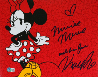 """Kaitlyn Robrock Signed """"Minnie Mouse"""" 11x14 Photo Inscribed """"Minnie Mouse and her friend"""" (Beckett Hologram) at PristineAuction.com"""