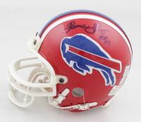 "Thurman Thomas Signed Bills Mini Helmet Inscribed ""HOF 07"" (Prova Hologram & Thomas Hologram) at PristineAuction.com"