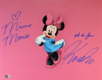 """Kaitlyn Robrock Signed """"Minnie Mouse"""" 16x20 Photo Inscribed """"Minnie Mouse and her friend"""" (Beckett Hologram) at PristineAuction.com"""