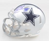 CeeDee Lamb Signed Cowboys Mini Speed Helmet (JSA Hologram) at PristineAuction.com