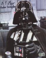 "David Prowse & Brian Muir Signed ""Star Wars"" 8x10 Photo Inscribed ""Darth Vader"" & ""Vader Sculptor"" (Beckett LOA & PSA COA) at PristineAuction.com"