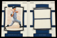 Mickey Mantle 2020 Panini National Treasures Legendary Jumbo Material Booklets #7 #13/25 at PristineAuction.com