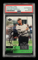 Jack Nicklaus Signed 2004 National Trading Card Day #UD4 (PSA Encapsulated) at PristineAuction.com