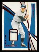 Mickey Mantle 2021 Immaculate Collection Red #5 #5/15 at PristineAuction.com