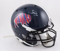 Zack Moss Signed Full-Size Helmet (Beckett Hologram) (See Description) at PristineAuction.com