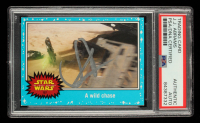 J. J. Abrams Signed 2015 Star Wars Journey to The Force Awakens #107 A Wild Chase (PSA Encapsulated) at PristineAuction.com