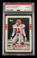 Deion Sanders 1989 Topps Traded #30T RC (PSA 10) at PristineAuction.com