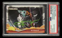 John Rosengrant Signed 2020 Star Wars The Mandalorian Journey of the Child #10 Not Staying Put (PSA Encapsulated) at PristineAuction.com