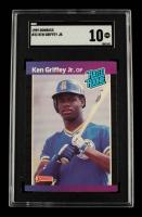 Ken Griffey Jr. 1989 Donruss #33 RR RC (SGC 10) at PristineAuction.com
