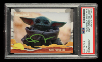John Rosengrant Signed 2020 Star Wars The Mandalorian Journey of the Child #3 Along for the Ride (PSA Encapsulated) at PristineAuction.com