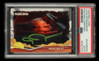 John Rosengrant Signed 2020 Star Wars The Mandalorian Journey of the Child #7 Imperial Drop-Off (PSA Encapsulated) at PristineAuction.com