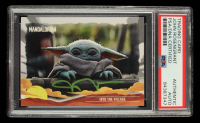 John Rosengrant Signed 2020 Star Wars The Mandalorian Journey of the Child #12 Into the Village (PSA Encapsulated) at PristineAuction.com